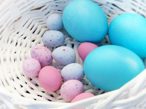 Pasen eieren mand