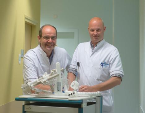 Winnend abstract radioloog Rogier van Stiphout over robotgestuurde prostaatbiopsie